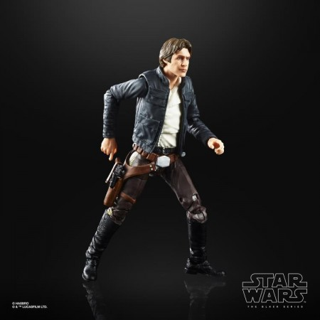 Star Wars 40th Anniversary Black Series Han Solo ( The Empire Strikes Back ) Action Figure