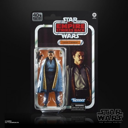 Star Wars 40th Anniversary Lando Calrissian Empire Strikes Back Action Figure
