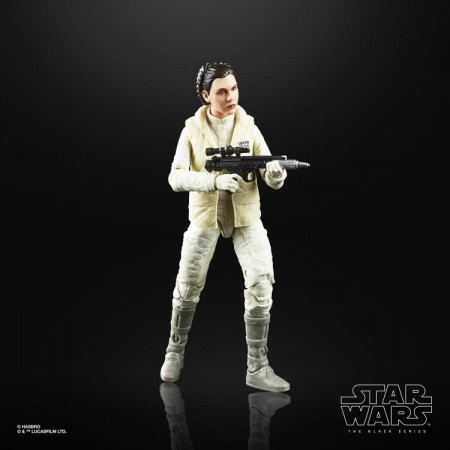 Star Wars 40th Anniversary Black Series Princess leia ( The Empire Strikes Back ) Action Figure