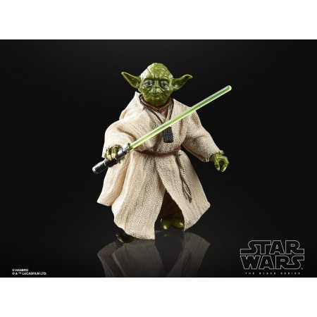 Star Wars 40th Anniversary Black Series Yoda ( The Empire Strikes Back ) Action Figure