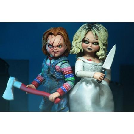 NECA Bride Of Chucky Tiffany & Chucky 2 Pack