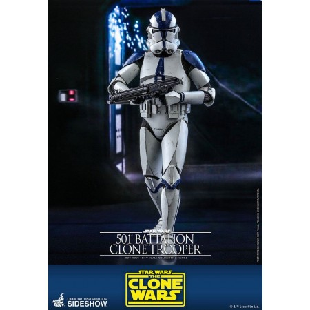 Hot Toys Star Wars The Clone Wars 501st Battalion Clone Trooper 1/6 Scale Figure