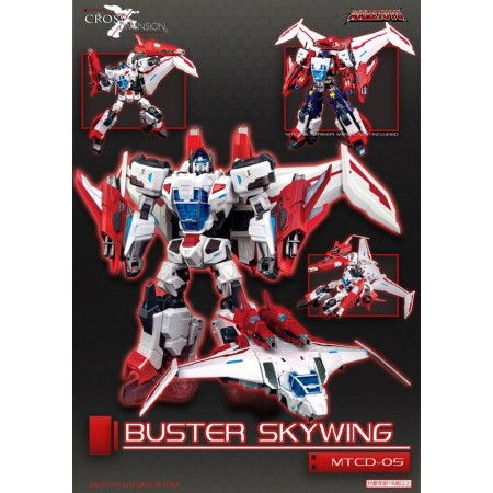 Maketoys Cross Dimension MTCD05 Buster Skywing
