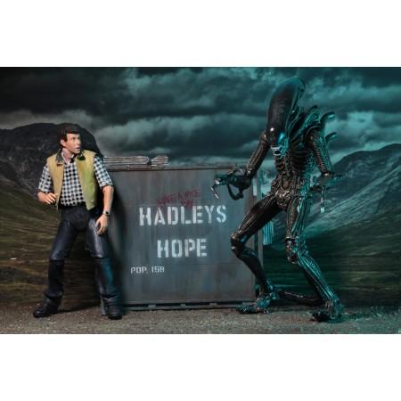 NECA Aliens Hadley's Hope Burke & Xenomorph 2 Pack
