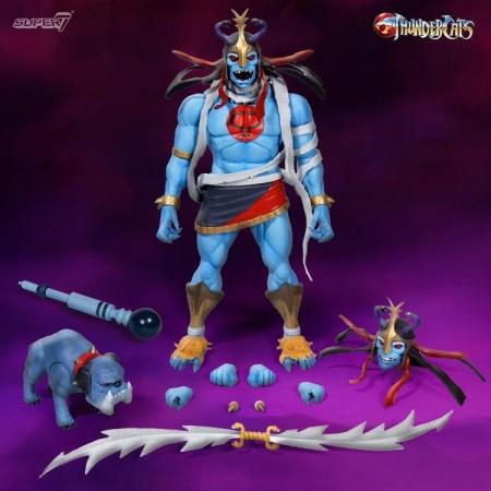 Super 7 Thundercats Mumm-Ra & Ma-Mutt 2 Pack
