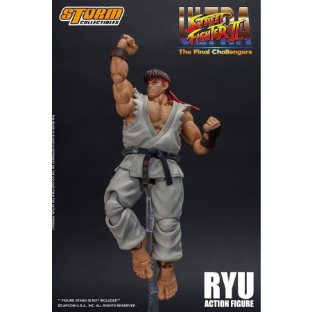 Ultra Street Fighter 2 The Final Challengers Ryu Action Figure