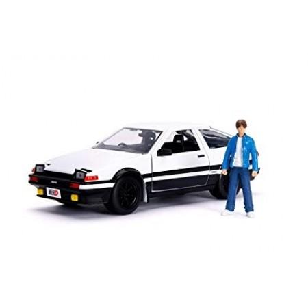 Jada 1:24 Scale Hollywood Rides Iniital D Toyota Trueno (AE86)