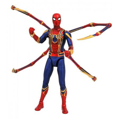 Marvel Select Avengers Infinity guerra hierro araña