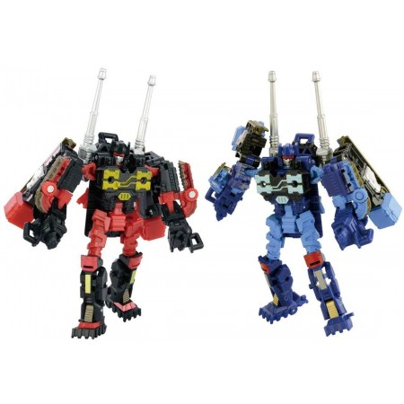 Transformers aventuras TAV-32 Rumble y Frenzy