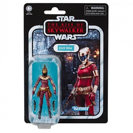Star Wars Vintage Collection Rise Of Skywalker Zorii Bliss