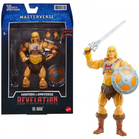 Masters Of The Universe Revelation Figura de acción He-Man