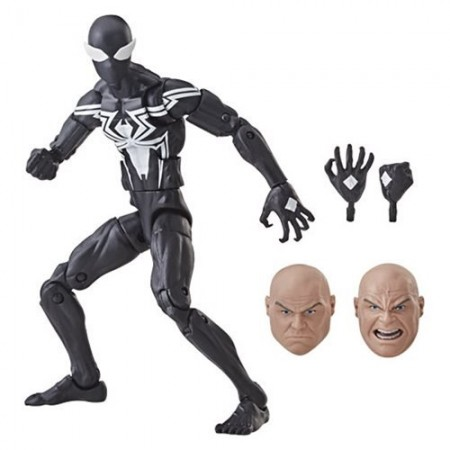 Marvel Legends Symbiote Spider-Man Kingpin Wave