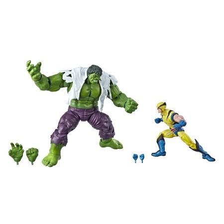 Marvel Legends 80th Anniversary Hulk Vs Wolverine 2 Pack UK / EU Packaging