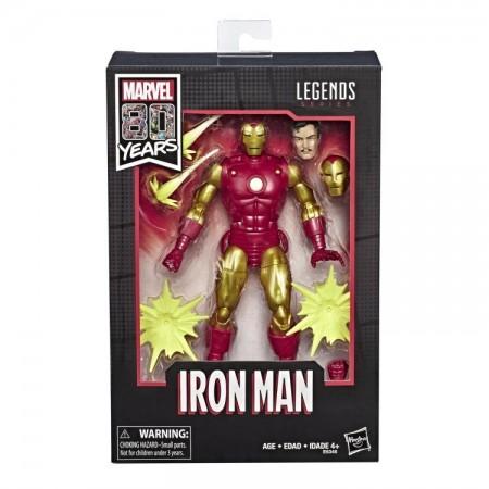 Marvel Legends 80th Anniversary Iron Man Action Figure NON MINT