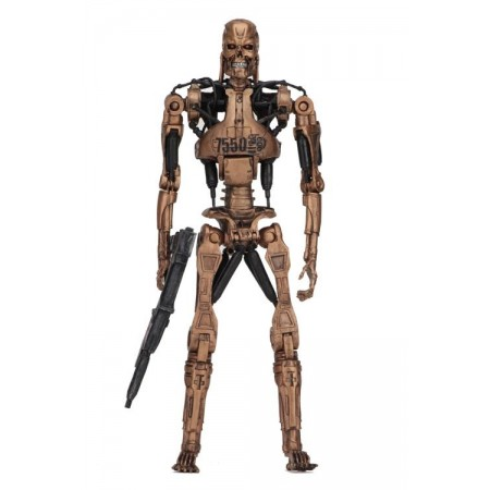 NECA Terminator 2 Kenner Tribute Metal Mash Endoskeleton