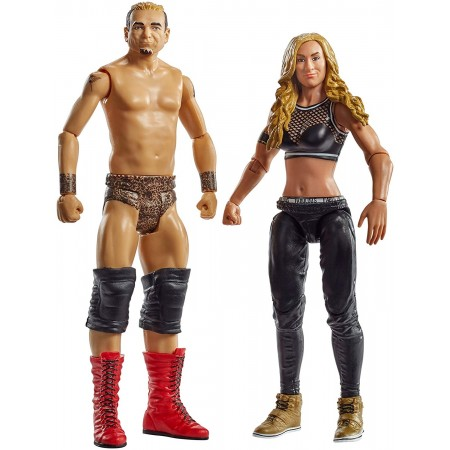 WWE Series 53 Battle Pack James Ellsworth & Carmella