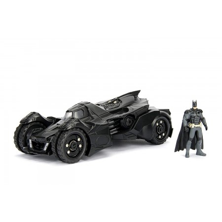 Jada Toys 1:24 Scale Batman Arkham Knight Batmobile & Batman Figure