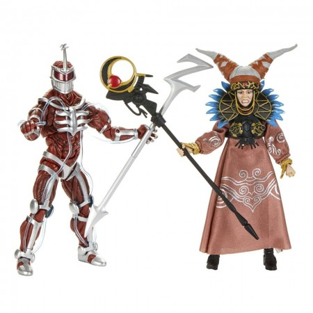 Power Rangers Lightning Collection Lord Zedd & Rita Repulsa 2 Pack