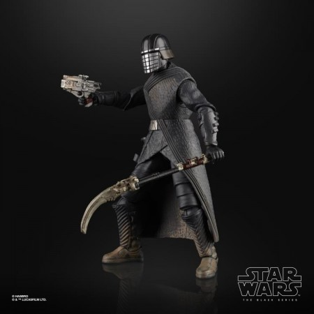 Figura de acción de Star Wars Black Series Knight Of Ren Rise Of Skywalker de 6 pulgadas