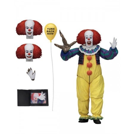 IT 1990 Ultimate Pennywise Version 2 NECA Action Figure