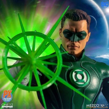 Mezco One:12 Collective PX Previews Hal Jordan Exclusive