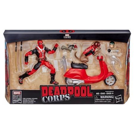 Marvel Legends Ultimate Riders Deadpool & Scooter