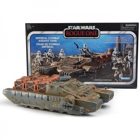 Star Wars Vintage Collection Rogue One Hovertank NON MINT BOX