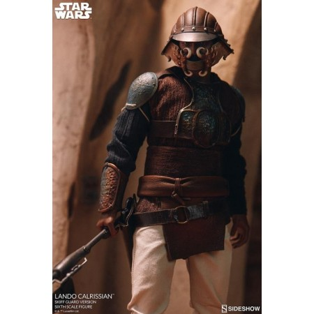 Sideshow Star Wars Lando Calrissian Skiff Disguise ROTJ 1/6 Scale Figure