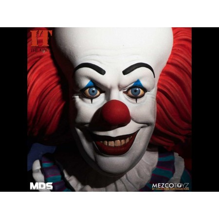 Mezco Designer Series Deluxe Pennywise MDS IT Action Figure