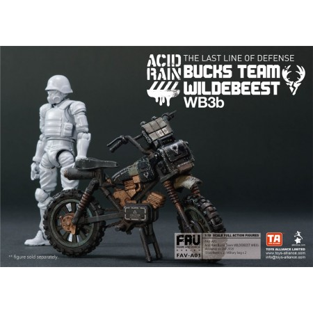 Toys Alliance Acid Rain FAV-A01 Bucks Team Wildebeest W3b3