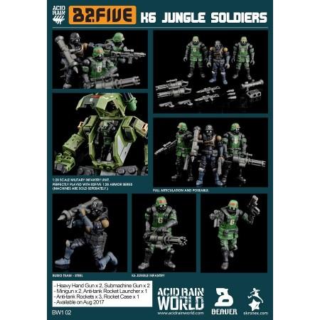 Acid Rain B2Five K6 Jungle Soldier Set