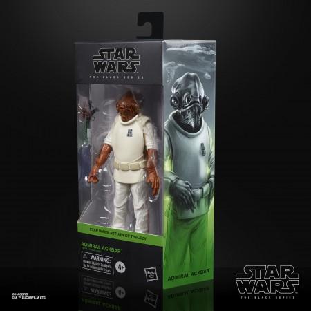 Star Wars Black Series Admiral Ackbar Return Of The Jedi 6 Inch Action Figure