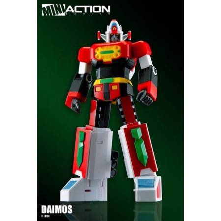 Action Toys Mini Action Series Daimos Action Figure