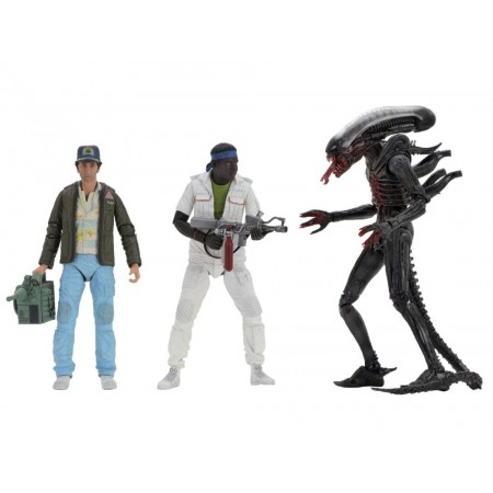 NECA Alien 40th Anniversary Series 15 Set of 3 Brett Parker & Big Chap