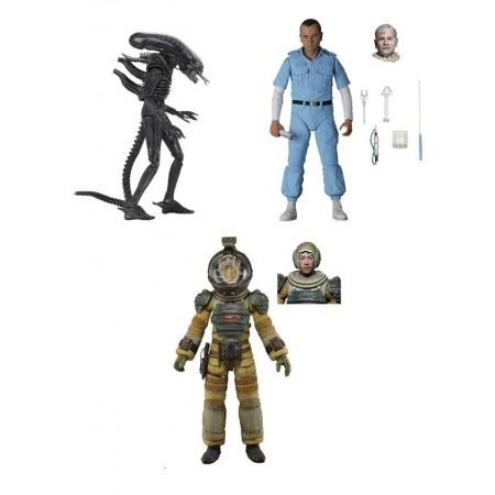 NECA Aliens 40th Anniversary Wave 3 Set of 3 Action Figures
