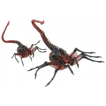 "Aliens 7"" Figure Series 10 Alien Queen Facehugger Action Figure"
