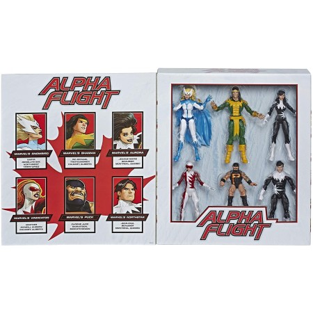 Marvel Legends Alpha Flight Acción Figura Conjunto