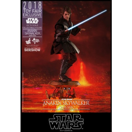 Hot Toys Darkside Anakin Skywalker TOYFAIR EXCLUSIVE Star Wars 1/6th Scale Figure