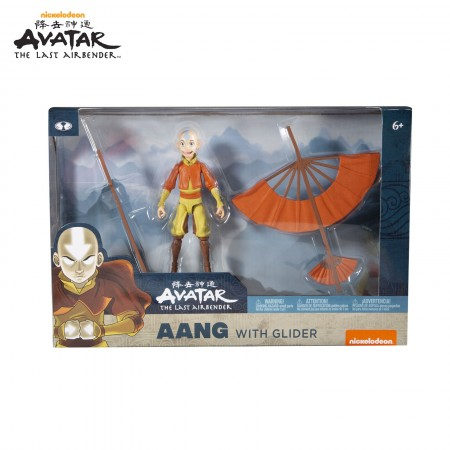 McFarlane Toys Avatar The Last Airbender Aang and Glider Action Figure