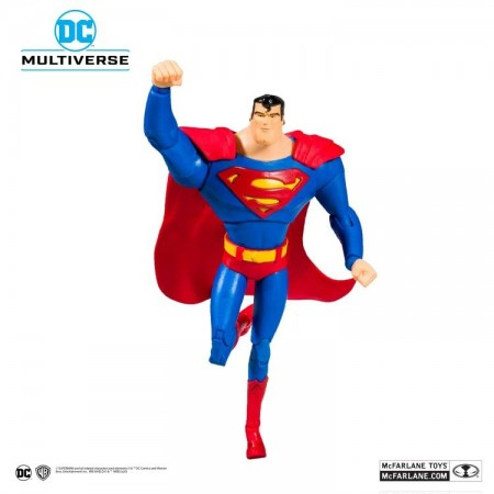 McFarlane DC Multiverse Superman The Animated Series Superman Action Figure