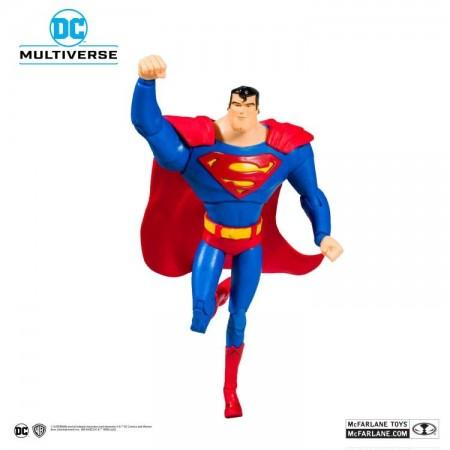 McFarlane DC Multiverso Superman La serie animada Superman Action Figure
