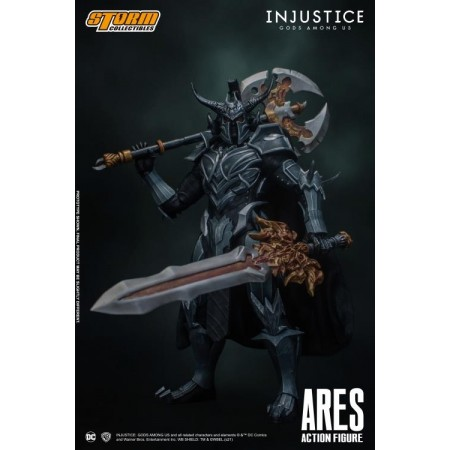 Storm Collectibles Ares ''Injustice Gods Among Us'' Action Figure