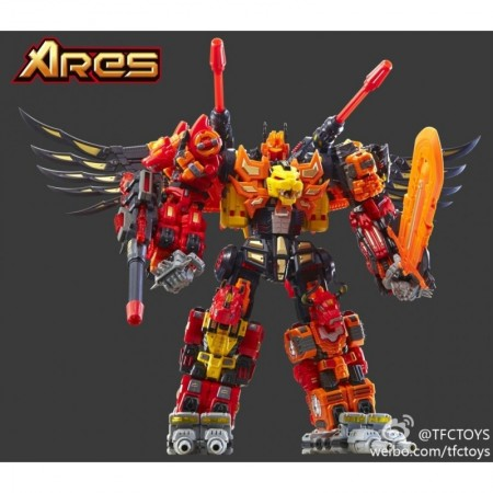 TFC Toys Ares Set of 5