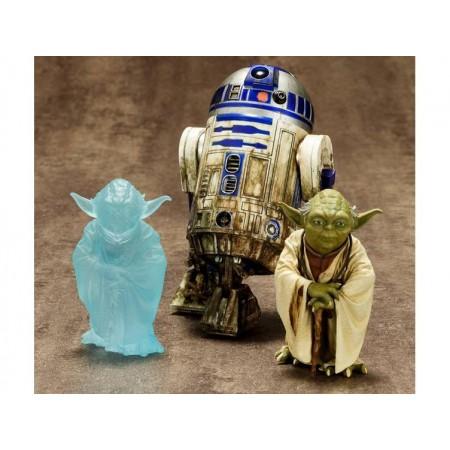 Yoda de Star Wars ArtFX 1/10 escala Dagobah