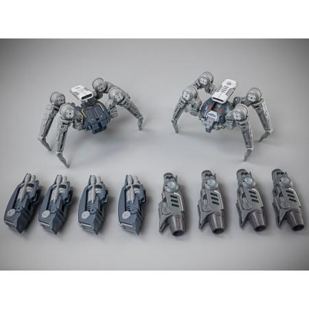 Astrobots Tarantula and Wasp