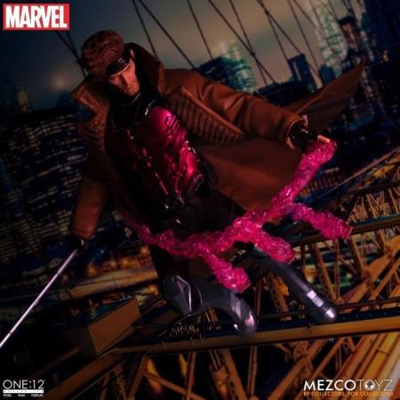 Mezco Uno:12 Gambito Colectivo X-Men Figura de Acción de 6 Pulgadas