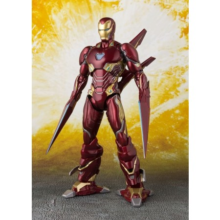S.H. Figuarts Avengers Infinity War Iron Man MK50 Nano Weapons Set