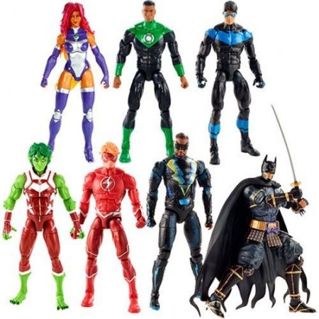 DC Multiverse Wave 11 Batman Ninja Set of 6