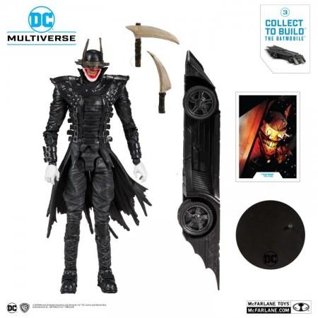 McFarlane DC Multiverso El Batman que se ríe Figura de acción ( Batmobile Construir una figura )