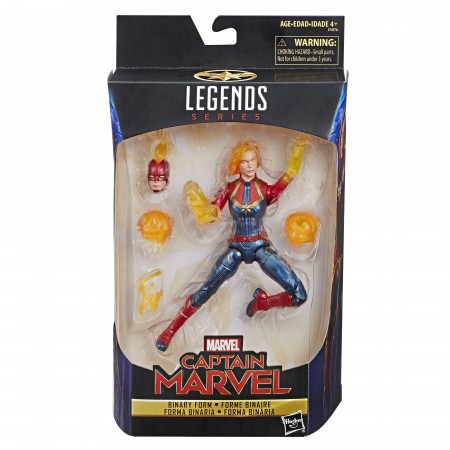 Marvel Legends Captain Marvel Binary Form Action Figure